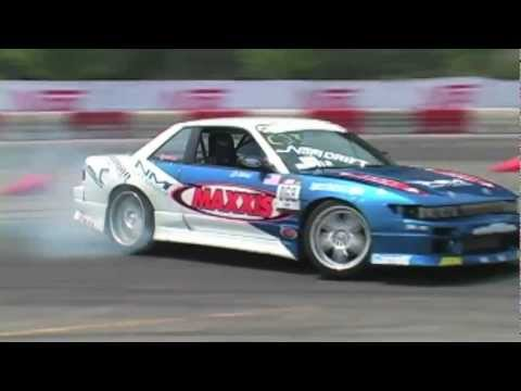 Damien Bagley (crashes) vs. Gary Lang – NOPI Drift Pittsburgh 2007 – Top 16
