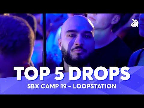 TOP 5 DROPS 😱 SBX Camp 2019 Loopstation Battle
