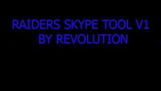 Hope you enjoy this skype toolRemember to like if you want a V2Download:Raiders Skype Tool V1 - https://drive.google.com/file/d/0BzsFvsgxyaqSRW1qWEV3NXg1U1U/viewLikeSubscribePeace