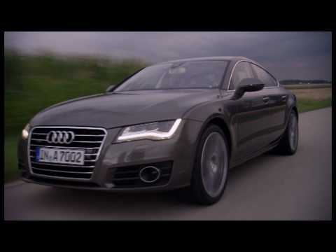 0 Audi A7 Sportback   Driving Footage | Video