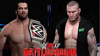 After Randy Orton was granted another chance at the WWE title, Jinder Mahal made the stipulation for their rematch to be a Punjabi Prison Match at WWE Battleground 2017! Who will escape with the WWE Championship!Show some love by leaving a like, sharing and subscribing for more awesome videos like these!OUTRO MUSIC: Undertaker's Rollin Theme Cover by JAYDEGARROWJAYDEGARROW's YouTube: https://www.youtube.com/channel/UCit4zHRRYaU5Og8ZHqvA7jQFOLLOW ME HERE:Facebook: https://www.facebook.com/julian.rosado.14Twitter: https://twitter.com/Jules1451Instagram: https://www.instagram.com/jules1451/Snapchat: @Jules1451Want to see more WWE 2K16 & WWE 2K17 Content? Visit this link for more! http://www.thesmackdownhotel.com