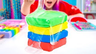 Adding Too Much Ingredients To Slime! Adding Too Much Of Everything Into SLIME! by The Wonderful World of Wengie