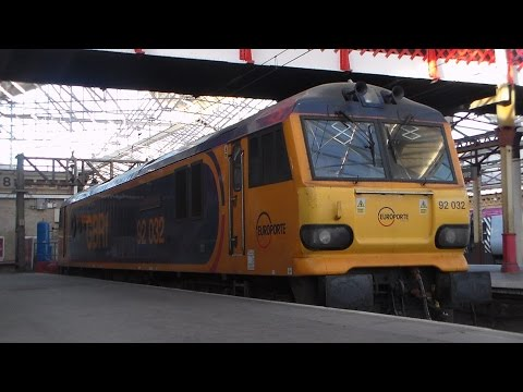 In Detail: GBRf's 92032 'ImechE Railway Division' at Crew...