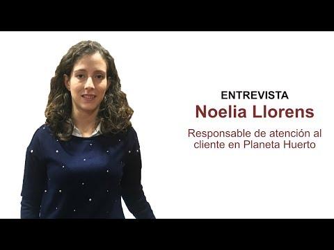 Entrevista a Noelia Llorens, responsable de Atención al cliente en Planeta Huerto[;;;][;;;]