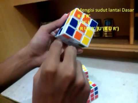 Tutorial Rubik 3x3 ( By Ma'rif Hidayat )
