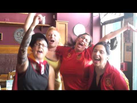 A victory chant- ¡Viva Espana!