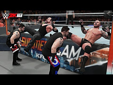 WWE 2K18 Top 10 Double Finishers! Part 2
