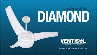 Ventilador de Teto Diamond
