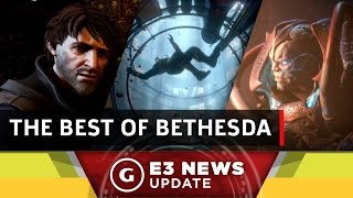 Quake Champions, DIshonored 2, and All the Best News From the Bethesda! - GS News Update by GameSpot