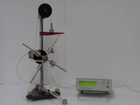графики для маятника обербека