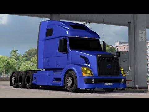 Aradeth's Volvo VNL 670 v1.5.3 updated for ETS2 1.31.x