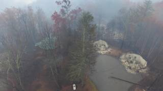 VIDEO: Drone Captures Imagery from Devastating Wildfires