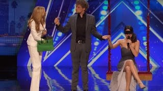 Video BEST Magic Show in the world - Cool Couple America's Got Talent - The Clairvoyants MP3, 3GP, MP4, WEBM, AVI, FLV Juni 2018