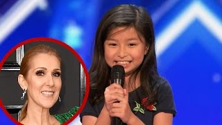 Video 'AGT': Watch a 9-Year-Old Girl Names Celine Dazzle the Judges With 'My Heart Will Go On' Cover MP3, 3GP, MP4, WEBM, AVI, FLV Juni 2017