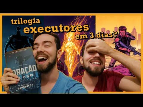 LENDO A TRILOGIA EXECUTORES EM 3 DIAS? ?   OS LIVROS DE SUPER-HERÓI DO BRANDON SANDERSON   #Lucas