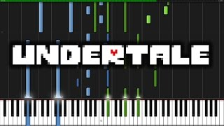 Undertale (Main Theme) - Undertale [Piano Tutorial]