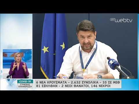 Χαρδαλιάς: «Ο ιός είναι εδώ, δεν έχουμε διαφύγει τον κίνδυνο» | 04/05/2020 | ΕΡΤ