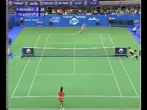 Maria Kirilenko vs Ana Ivanovic, Tokyo 2006