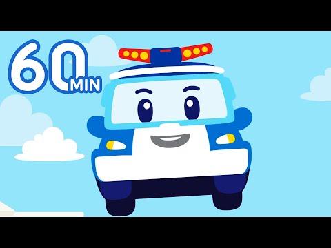 Robocar POLI Car Songs 1 Hour Medley | Songs for Kids | Kids Songs | Robocar POLI - Nursery Rhymes