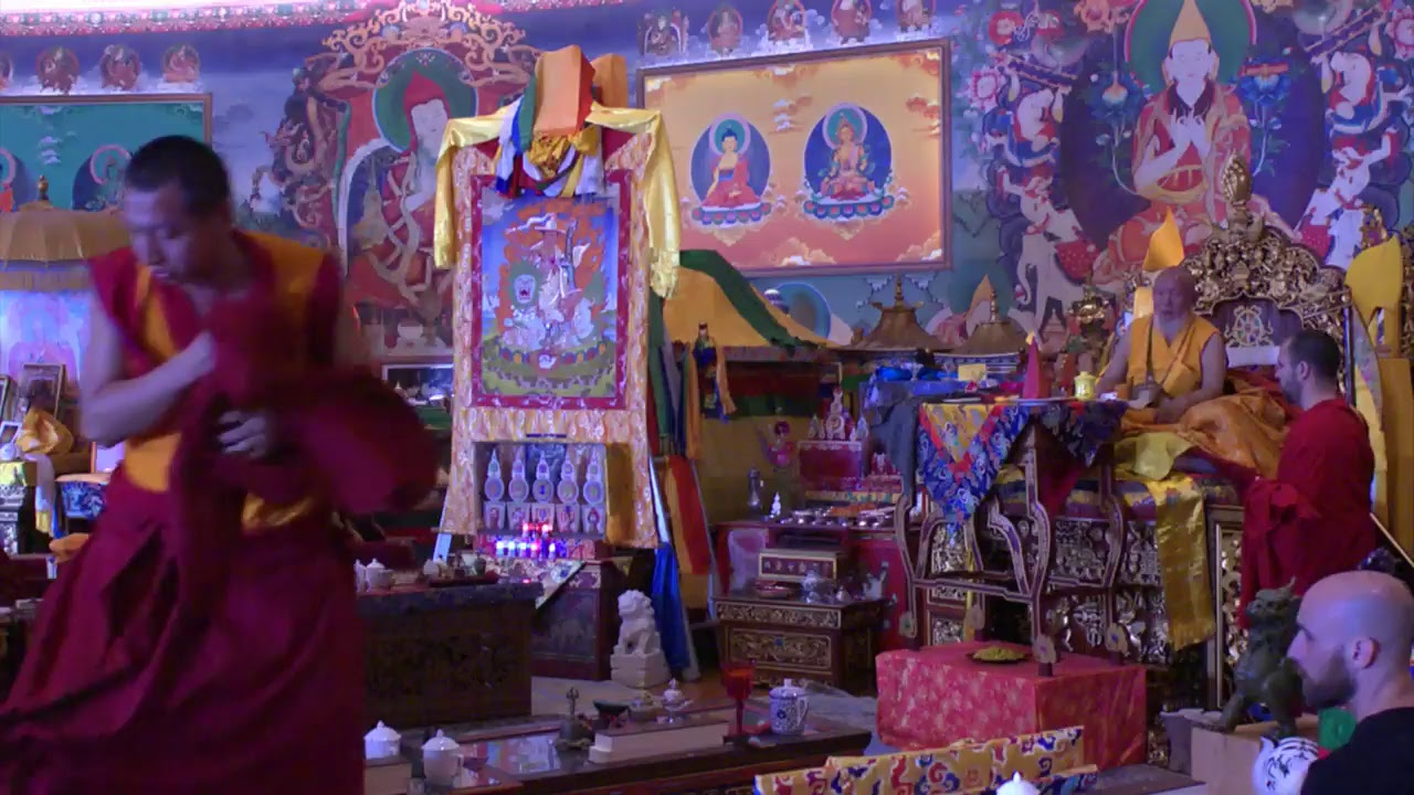 Torgyal Todrup puja - part 1