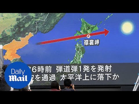 World reacts to North Korea's latest missile launch - Daily Mail