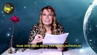 Akrep burcu Ocak 2016 da neler yaşayacak? Filiz Özkol astroplaytv için özel bir video hazırladı. İLGİNİZİ ÇEKEBİLECEK DİĞER ASTROLOJİ PLAYLİSTLERİMİZ2016 yılı aşk astrolojisihttps://www.youtube.com/playlist?list=PLigcTkt96-F9vylD_MshBva8DvQI34iL-2016 yılı kariyer ve para astrolojisihttps://www.youtube.com/playlist?list=PLigcTkt96-F_NazjcA47FyayED6moSPkxOcak 2016 aylık astroloji tüm burçlar https://www.youtube.com/playlist?list=PLigcTkt96-F-0Z-VzZIGjU8shn0tIKdyXFiliz Özkol ile Burç YorumlarıÜcretsiz abone olmak için tıklayın! https://goo.gl/S1M0KDAkrep burcu genel özellikleriAkrep burcu insanları için gülmek oldukça zordur. Duygusal olarak incinen, ihanete uğrayan Akrep burcu insanı için tek bir şart geçerlidir. O da intikam almak. Aşırı derecede soğukkanlılık gösterir ve bu konuda burçlar kuşağında daha iyisi yoktur. Tüm bunlara rağmen, Akrep burcu insanı kendisini korkutucu veya sinirli bulmaz. Dostlukları tutkulu yapısından, fazla duyarlı olmasından ve hislerinden dolayı bozulur. Daha da kötüsü düşmanlığa dönüşebilir. Akrep burcu insanlara güvenmekte aşırı zorluk çeker. Karşısındaki insanın gerçekten içten olduğuna inanması gerekir. Bu da gerçekten uzun bir süre alacaktır. Yine de Akrep burcu insanı bir kez güvendiğinde, kendisini karşısındaki insana karşı açar. Güvendiği insanı engellemez. Her şeyini ona verir. Akrep burcu, klasik astrolojiye göre kötülüğü, şiddeti ve cehennemi temsil eder. Ancak Akrep burcu insanlarının şeytansı bir kişiliğe sahip olduğunu söylemek mümkün müdür? Hayır. Akrep burcu insanı bu benzetmeye yakışacak bir insan değildir. Akrep burcu insanları, karşısındaki insana şeytanca şeyler yaptırabilecek özelliklere sahiptir. Akrep burcu, insancıl içgüdülerin yıldızı olan, Plüton'un etkisi altındadır. Akrep burcu insanlarının hayatındaki en önemli nokta, tutkusunun ateşidir. Duygularını kontrol etmeyi bilen Akrepler, bunu enerjileri için yararlı bir şekilde kullanabilir. Ancak duygusunu kaybeden bir Akrep zehirli olabilir. İnsanları zehirlemeyece
