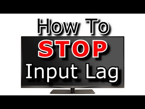 how to know tv input lag