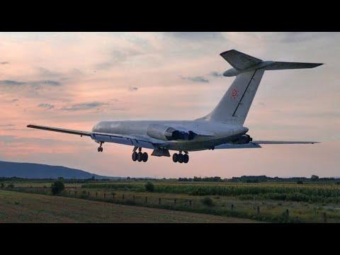 Ryzykowny start Ił-62 Rada Airlines