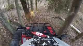 7. ATV 4x4 CF moto 500 vs Polaris sportsman 500