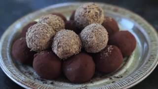 Chocolate Caramel Truffles Recipe by Home Cooking Adventure