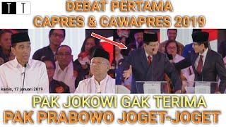 Video Pak Jokowi Gak Terima Pak Prabowo Joget-Joget | DEBAT CAPRES & CAWAPRES | 2019 MP3, 3GP, MP4, WEBM, AVI, FLV April 2019