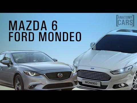 Mazda 6 vs ford mondeo фотка
