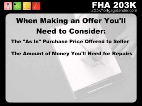 Fha 203k Streamline Loan Calculator  1