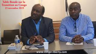 TABLE RONDE DU 23 NOVEMBRE 2019 : Quelles institutions pour le Congo (1ere partie)