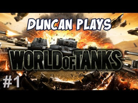 duncan - Duncan jumps into the British line of tanks! ♥ T-shirts and Jumpers: http://yogscastlalna.spreadshirt.com/ ♥ Join us and get partnered on YouTube: http://awe...