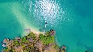 Phang Nga Thailand  city photos gallery : Drone video over Phang Nga Bay, Phuket, Thailand