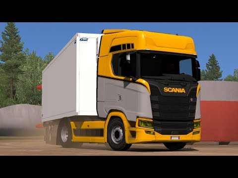 OLSF Electric Drive 4 for Scania 2016 1.33.x