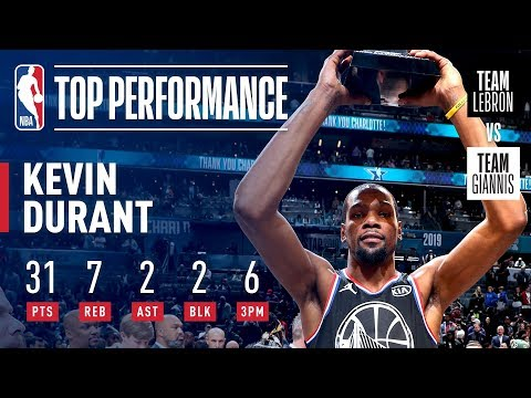Video: Kevin Durant Takes Home KIA All-Star Game MVP Honors! | 2019 NBA All-Star