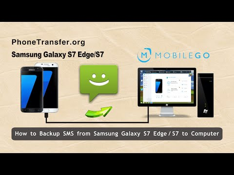 How to Backup SMS Text Messages from Samsung Galaxy S7 Edge / S7 to Computer