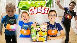 Video JEU - POWER QUEST - 1, 2, 3 SOLEIL FUTURISTE ! - Jeu de société et d'action MP3, 3GP, MP4, WEBM, AVI, FLV November 2017