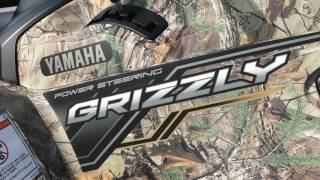 6. 2018 Yamaha Grizzly EPS Realtree Xtra