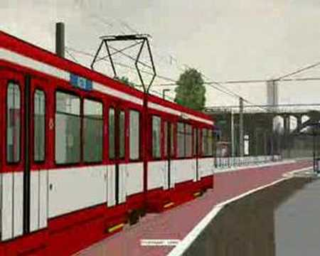 First Look Stadtbahn U79 V3 Tram Route