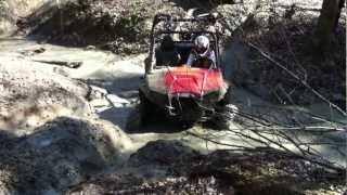 9. CAW 2012 Polaris RZR 800 S Stuck in a ditch