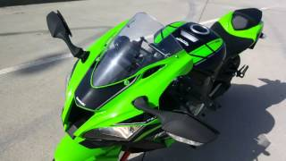 7. 2016 Kawasaki ZX10R review, walk around