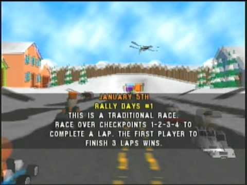 cheat codes for south park rally nintendo 64