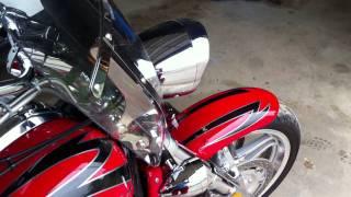 8. 2007 Honda VTX1800 F3 with Vance & Hines Slash Cut Exhaust