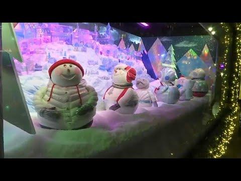 Magische Weihnachts-Deko in New York - sogar mit Karaoke