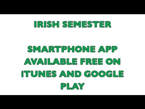 Video of Irish Semester