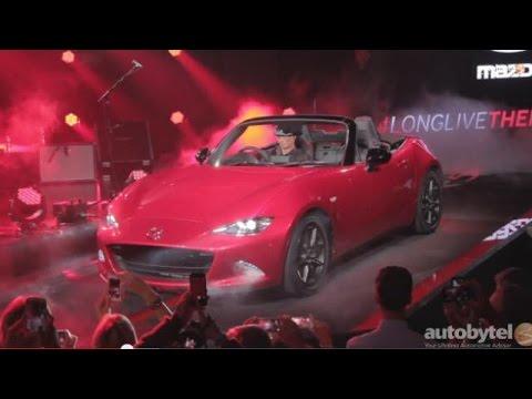 2016 Mazda MX-5 Miata Debut