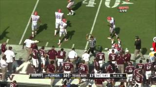 Jake Matthews vs  Florida  (2012)